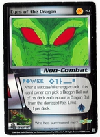 Dragon Ball Z CCG Game Card: Eyes of the Dragon