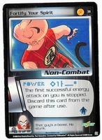 Dragon Ball Z CCG Game Card: Fortify Your Spirit