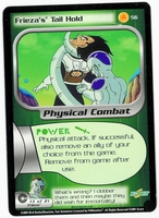 Dragon Ball Z CCG Game Card: Frieza's Tail Hold