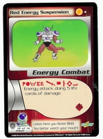 Dragon Ball Z CCG Game Card: Red Energy Suspension