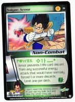 Dragon Ball Z CCG Game Card: Saiyan Armor