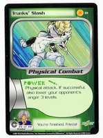 Dragon Ball Z CCG Game Card: Trunks' Slash