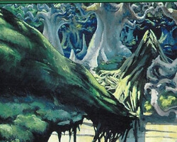 Magic the Gathering 10th Edition Card: Forest (a)