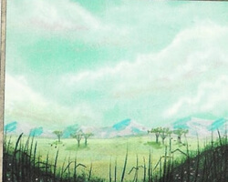 Magic the Gathering 4th Edition Card: Plains (a)