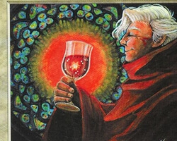 Magic the Gathering 5th Edition Card: Blessed Wine