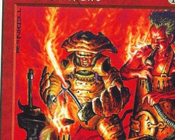 Magic the Gathering 5th Edition Card: Brothers of Fire