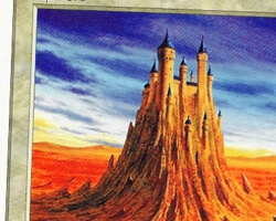 Magic the Gathering 5th Edition Card: Castle