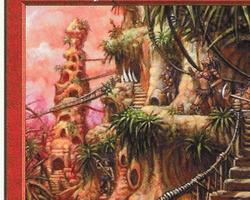 Magic the Gathering 5th Edition Card: Cave People