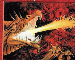 Magic the Gathering 5th Edition Card: Firebreathing