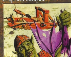 Magic the Gathering 5th Edition Card: Grapeshot Catapult
