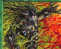 Magic the Gathering 5th Edition Card: Instill Energy