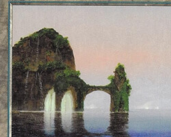 Magic the Gathering 5th Edition Card: Island (d)