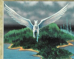 Magic the Gathering 5th Edition Card: Island Sanctuary
