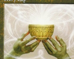Magic the Gathering 5th Edition Card: Ivory Cup