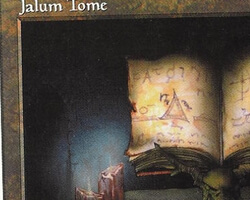 Magic the Gathering 5th Edition Card: Jalum Tome