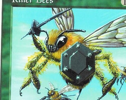 Magic the Gathering 5th Edition Card: Killer Bees