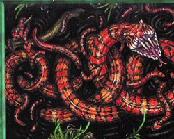 Magic the Gathering 5th Edition Card: Marsh Viper