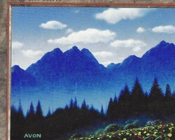 Magic the Gathering 5th Edition Card: Mountain (c)