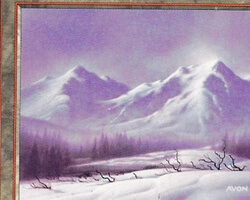 Magic the Gathering 5th Edition Card: Mountain (d)
