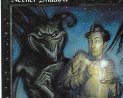 Magic the Gathering 5th Edition Card: Nether Shadow