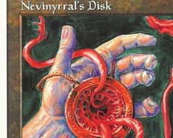 Magic the Gathering 5th Edition Card: Nevinyrral's Disk