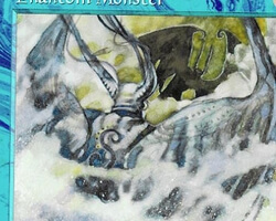Magic the Gathering 5th Edition Card: Phantom Monster