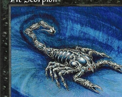 Magic the Gathering 5th Edition Card: Pit Scorpion