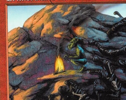 Magic the Gathering 5th Edition Card: Primordial Ooze
