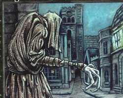 Magic the Gathering 5th Edition Card: Rag Man