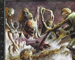Magic the Gathering 5th Edition Card: Scathe Zombies