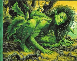 Magic the Gathering 5th Edition Card: Shanodin Dryads