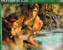 Magic the Gathering 5th Edition Card: Stream of Life