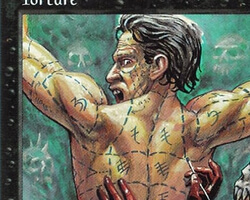 Magic the Gathering 5th Edition Card: Torture