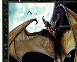 Magic the Gathering 5th Edition Card: Vampire Bats