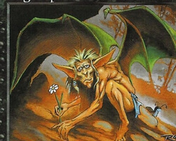 Magic the Gathering 6th Edition Card: Bog Imp
