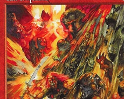 Magic the Gathering 6th Edition Card: Earthquake