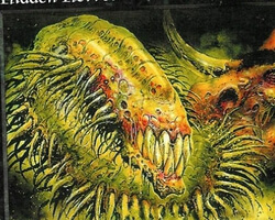 Magic the Gathering 6th Edition Card: Hidden Horror