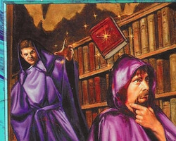 Magic the Gathering 6th Edition Card: Library of Lat-Nam