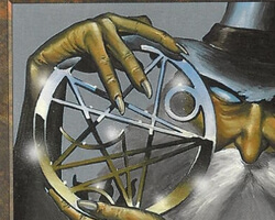 Magic the Gathering 6th Edition Card: Pentagram of the Ages
