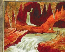 Magic the Gathering 6th Edition Card: Underground River