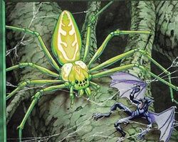 Magic the Gathering 7th Edition Card: Canopy Spider