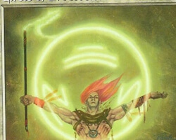 Magic the Gathering 7th Edition Card: Circle of Protection: Green