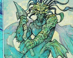 Magic the Gathering 7th Edition Card: Coral Merfolk