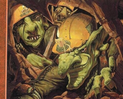 Magic the Gathering 7th Edition Card: Goblin Spelunkers