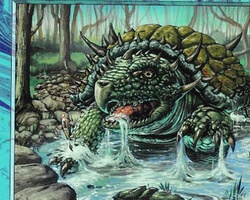Magic the Gathering 7th Edition Card: Horned Turtle