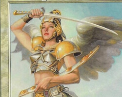 Magic the Gathering 7th Edition Card: Serra Angel