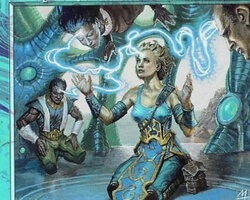 Magic the Gathering 7th Edition Card: Telepathy