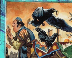Magic the Gathering 7th Edition Card: Thieving Magpie