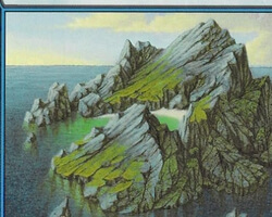 Magic the Gathering 8th Edition Card: Island (c)