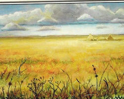 Magic the Gathering 8th Edition Card: Plains (b)